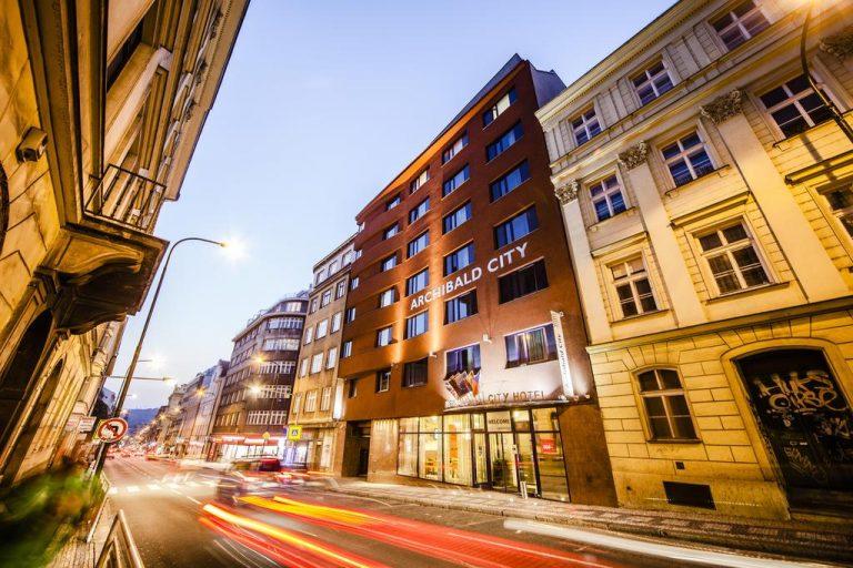 Castle-Chateau Night la Praga - Archibald City Hotel 4*