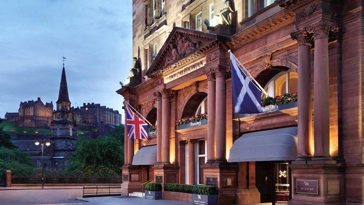 Waldorf Astoria Edinburgh - The Caledonian Hotel 5*