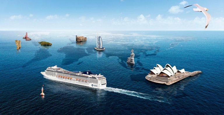 Croaziera 2022 in jurul lumii la bordul navei MSC Poesia - 128 nopti
