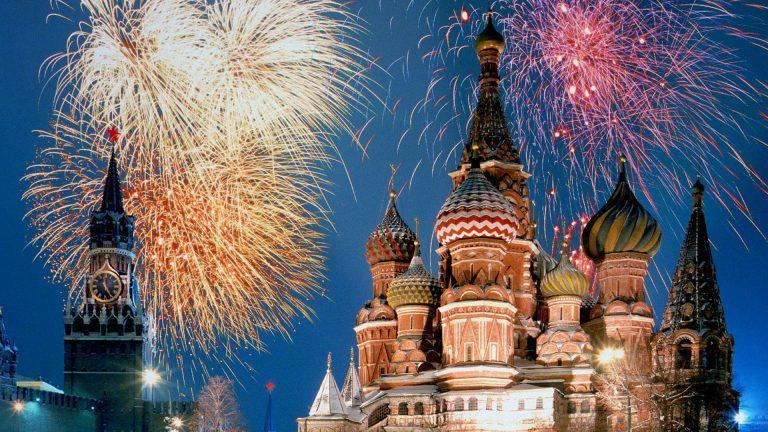 Revelion 2019 Rusia