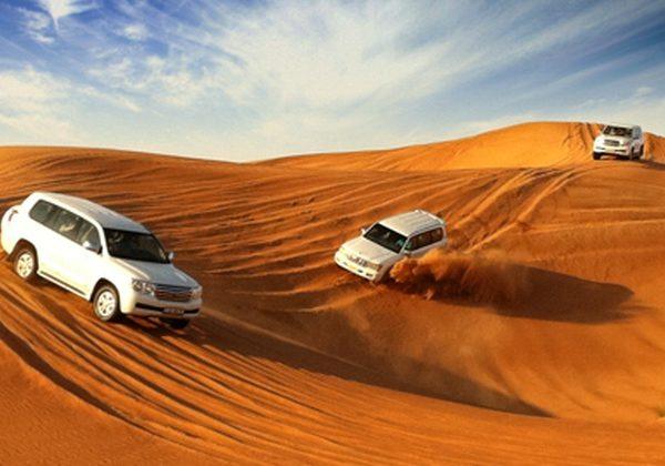 4X4 Desert Safari cu cina BBQ - plecare din Dubai