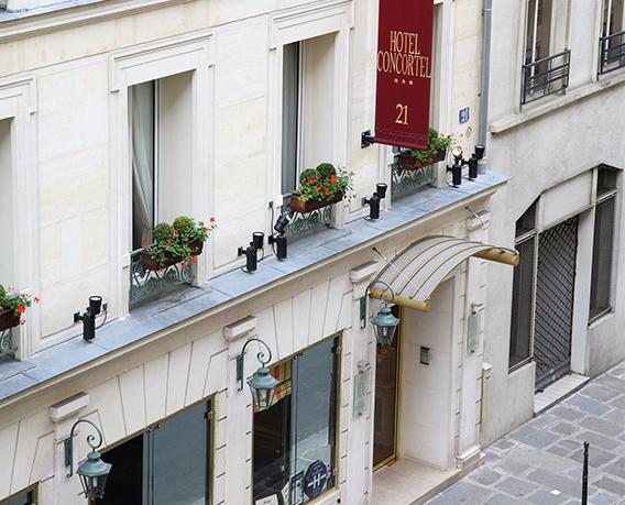 Valentine's day la Paris - Concortel Hotel 3*