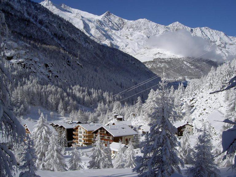 Ski Elvetia - Kristall-Saphir Hotel 3* (Saas Almagell)