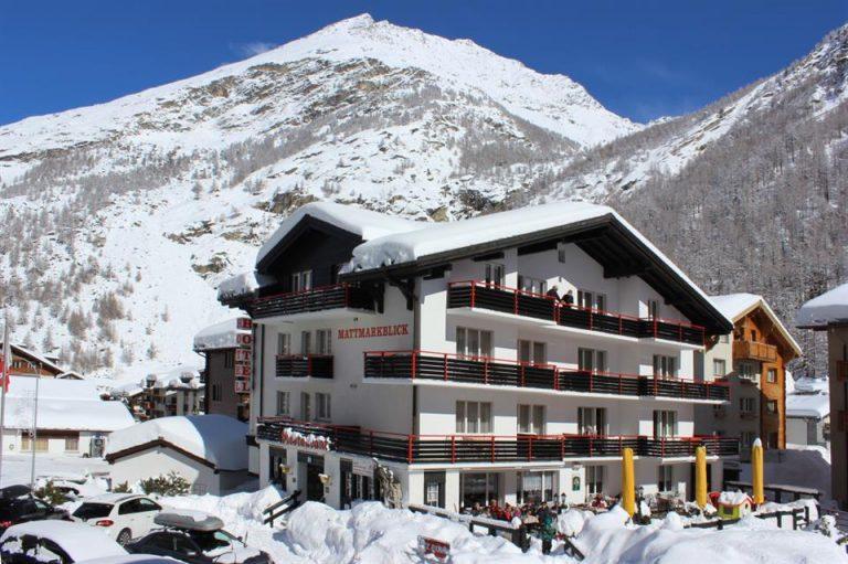 Ski Elvetia - Mattmarkblick Hotel 3* (Saas Almagell)
