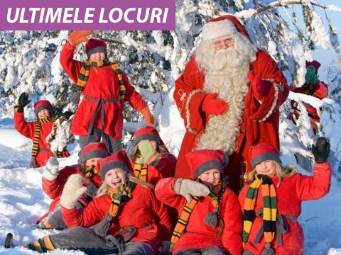 Craciun 2018 Laponia - plecare pe 18 Decembrie