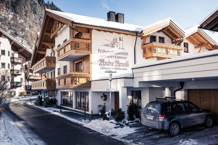 Vacanta la ski in Austria (Sölden) - Pensiunea Andre Arnold 3*