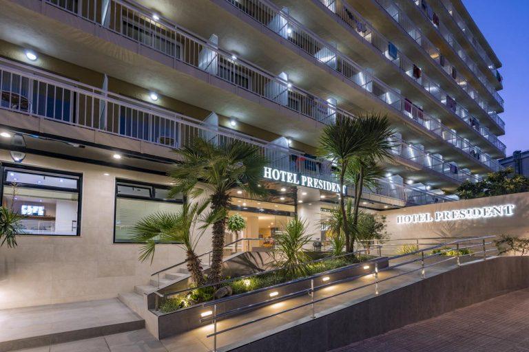 Early booking vara 2019 Costa Brava - President Hotel 3*