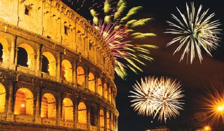 Revelion 2021 la Roma, Cetatea Eterna