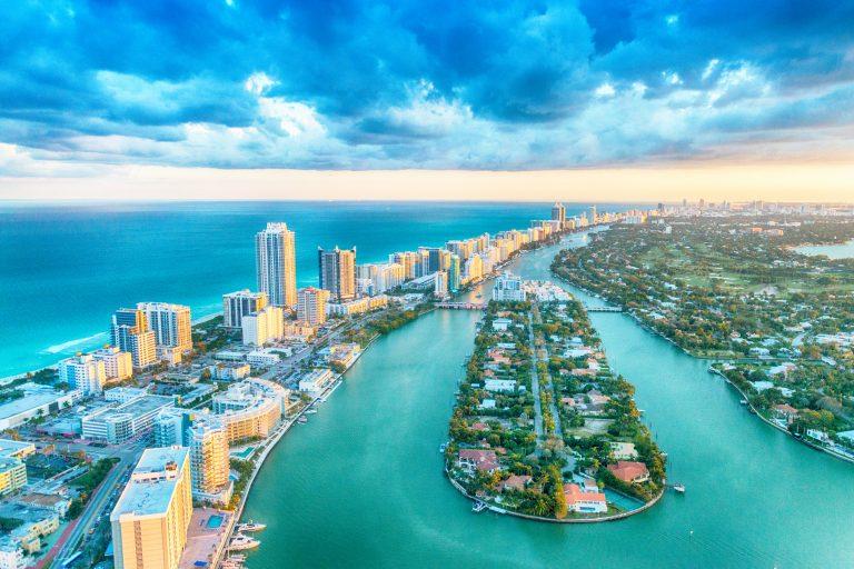 Oferta Blue Sky de la KLM: bilet avion Bucuresti - Miami