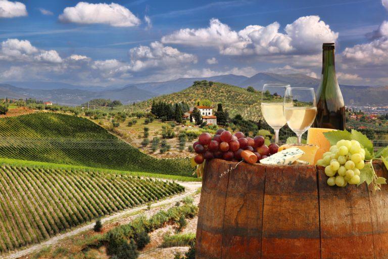 Degustare de vinuri Chianti in Toscana