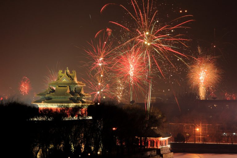 Revelion 2020 China, taramul contrastelor
