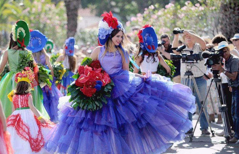 Madeira, festivalul florilor 2020