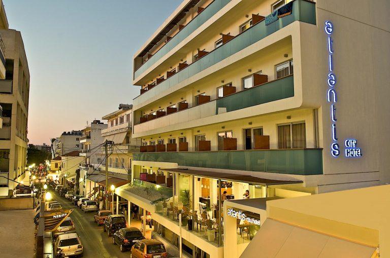 Paste 2021 in Rhodos - Atlantis City Hotel 3*