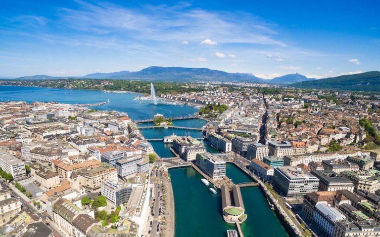Oferta promo de la Air Serbia: bilet avion Bucuresti - Geneva